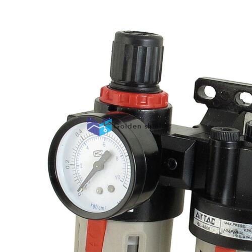 BFC4000 unidad de tratamiento de fuente de Aire Regulador Neumático Engrasador Set