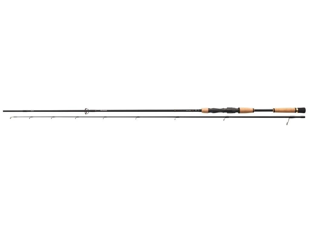 Daiwa luvias 862mfs-ad 2,60m 5-28g Cocherete fijo barschrute spinnfischrute