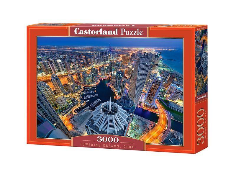 Castorland Puzzle 3000 Pieces - TOWERING DREAMS - 36
