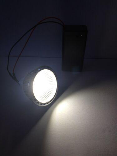 Craft Luce a batteria Esposizione Display Lampadina LED Super Luminosi Cool Bianco