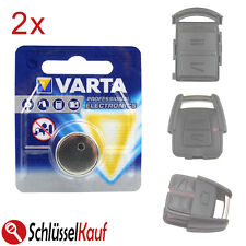 2x VARTA Autoschlüssel Batterie für Opel Astra Corsa Meriva Signum Vectra Zafira