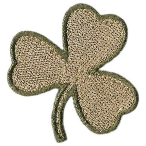 """BuckUp Tactical Morale Patch Hook Die Cut Clover Patches 2/"""""""