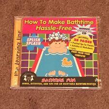 How To Make Bathtime Hassle-Free Bathtime Fun (CD, Music, Children's, 2004) New