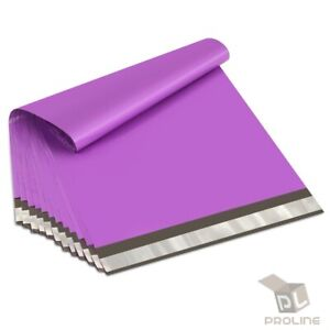 300 12x15.5 Poly Bags Purple Self Seal Poly Mailers Quality Bags 2.5 Mil