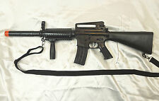 U.S. Military Army/Marines M-16 Airsoft Assault Rifle/Gun/Prop + Many Extras NEW