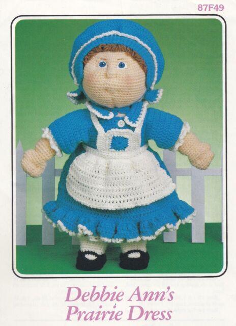 Debbie Ann S Prairie Dress Annie S Crochet Doll Clothes Pattern Booklet 87f49