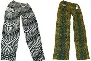 New-Green-Bay-Packers-Mens-Sizes-S-M-L-XL-2XL-Zubaz-Pajama-Lounger-Pants
