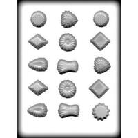Fancy Candy Pieces Hard Candy Mold - 8h-5105