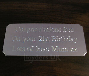 Engraved-Trophy-Plaques-Plates-Silver-73-x-32mm-Trophy-Plaques-Self-Adhesive