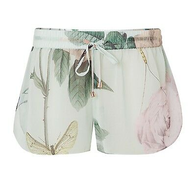 TED BAKER Distinguished Rose Abbly Beach Cover up Shorts Mint Size S