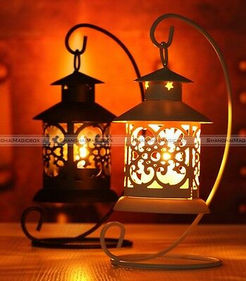 Creative Iron Moroccan Candlestick holder Candle Stand Light Holder Lantern
