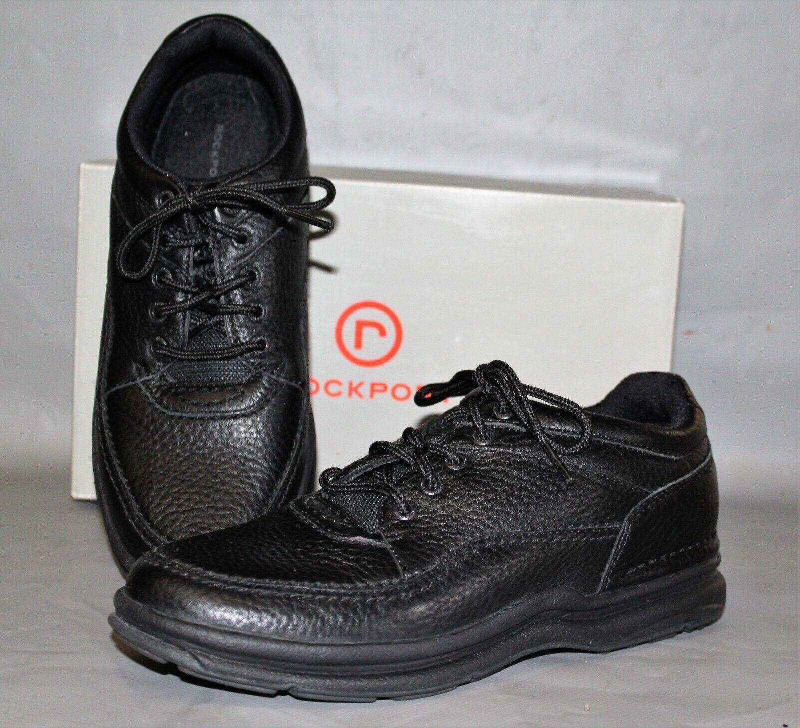 New Wouomo Rockport WT Classic nero  Leather Supportive Casual   Comfort scarpe  per il commercio all'ingrosso