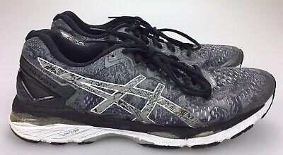 Details about Asics Gel Kayano 23 LITE SHOW Men's 10 EU 44 Running Shoes Grey Silver T6A1N