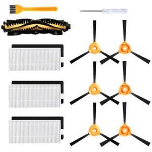 for ECOVACS DEEBOT Robotic Vacuum Cleaner N79//N79s Filter Main Side Brush Kit US