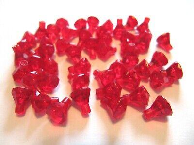 Lot of 500 LEGO Red Diamond Jewel Lot NEW Treasure