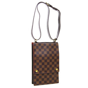 LOUIS-VUITTON-PORTOBELLO-SHOULDER-BAG-VI0061-PURSE-DAMIER-EBENE-N45271-AK46010