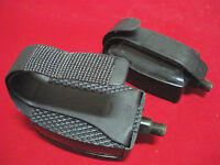 Exercise Bike Pedals Adjustable Straps 1/2 Stationary Gym Bicycle
