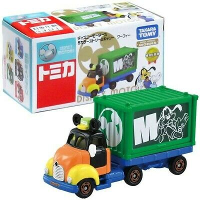 TAKARA TOMY TOMICA Disney Motors 5 Colors Dream Carry Goofy Japan import NEW