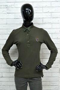 Polo-AERONATICA-MILITARE-Donna-Woman-Slim-Taglia-M-Maglietta-Shirt-Elastica