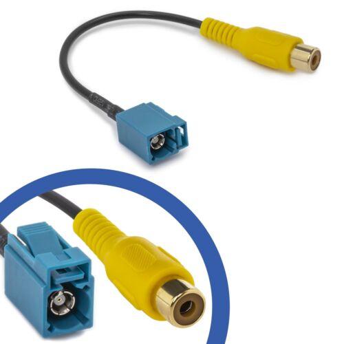 Adaptador de vídeo FAKRA cinch nachrüst cable para MERCEDES COMAND ntg rückfahr cámara