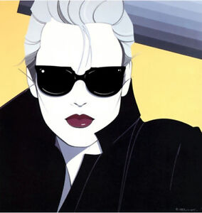 7bc605164006 Image is loading Patrick-Nagel-NC5-Girl-with-Sunglasses