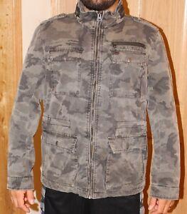 e091c731a139a Levi's Strauss & Co Men's Medium Camo Jacket with Hide Away Hood | eBay
