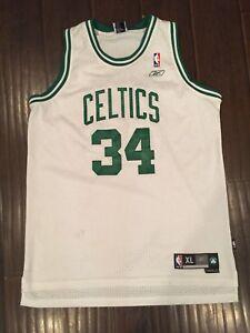 buy popular cc96a b8f66 Details about Vintage🔥 Reebok NBA Boston Celtics The Truth Paul Pierce  Jersey Sz XL +2 Men's