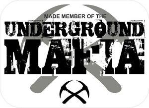 3-Underground-Mafia-Made-Member-Coal-Mining-Hard-Hat-Stickers-H558