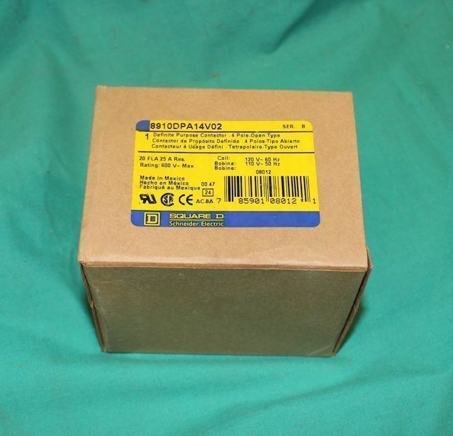 8910DPA14V02 DP Contactor 891ODPA14V02 ------------/> BRAND NEW