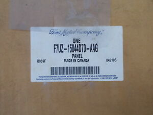 NEW Ford F7UZ-15044D70-<wbr/>AAG RH Instrument Panel  *FREE SHIPPING*
