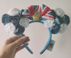 Disney-Parks-flower-Minnie-Mouse-Ears-Headband-Party-New