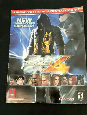 Tekken 4 Prima S Official Strategy Guide New Character Exposed