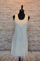 Modcloth Cream Tulle & Embroidery Dress A'reve Sz L Shift Lace Gorgeous
