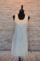 Modcloth Cream Tulle & Embroidery Dress A'reve Sz L Shift Lace Gorgeous