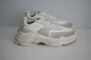 d970380b9b9e ... amazon image is loading authentic balenciaga 2018 triple s sneakers  trainers blanc 5ac7a 66d71