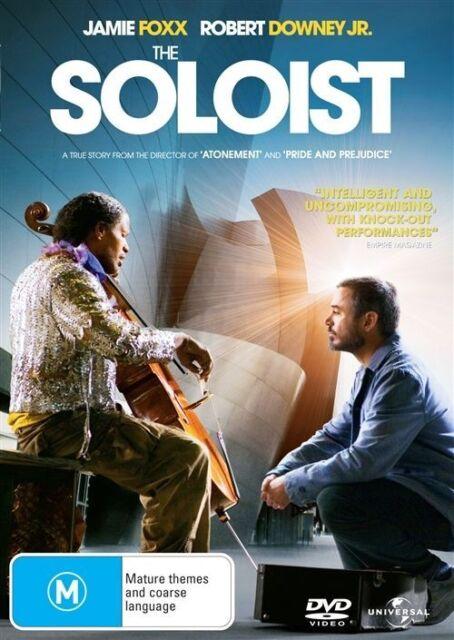 Soloist DVD Robert Downey Jr Jamie Foxx - REGION 4 AUSTRALIA