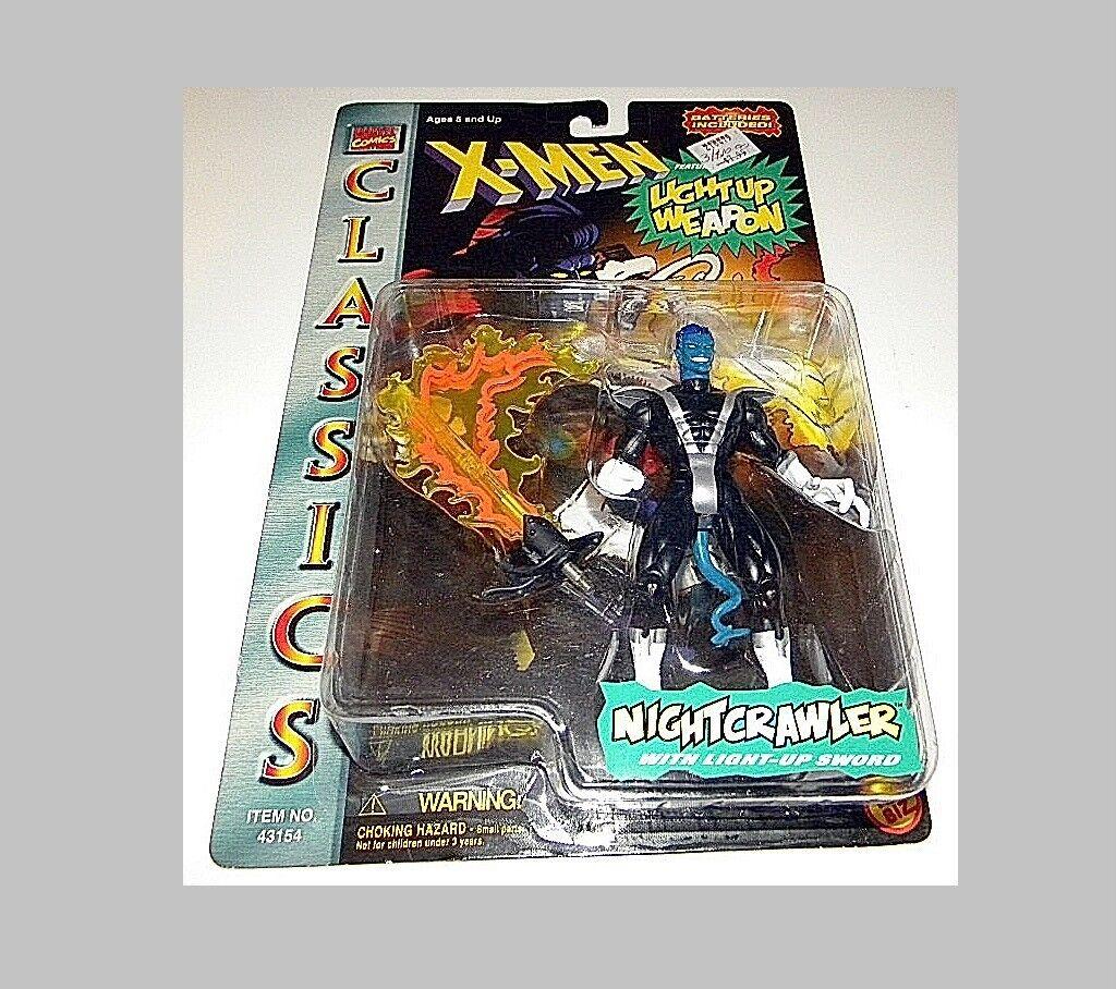 X - men - licht - waffe nightcrawler aus toy-biz selten moc