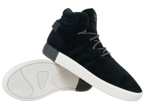 Men/'s adidas Originals Tubular Onvader Mid Top Sneakers Black Sports Shoes