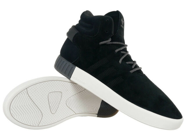 on sale eab1a 4819f Men's adidas Originals Tubular Onvader Mid Top Sneakers Black Sports Shoes