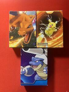 Pokemon Decks (3) Vivid Voltage Evolutions Mega Blastoise Complete Unopened New