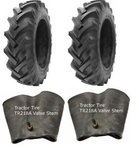 2-New-Tractor-Tires-amp-2-Tubes-18-4-38-GTK-R1-10-ply-TubeType-18-4x38-18-4-38-FS