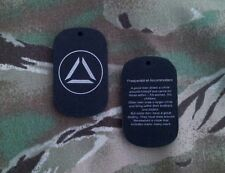 Universal Prepper Tag, silicone dog tag, Survival