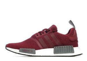 Image is loading Adidas-NMD-R1-Red-Grey-Mesh-Size-12-