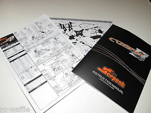 SERPENT-811-COBRA-B-E-2-0-BUGGY-OWNERS-MANUAL-TECH-SHEETS-PARTS-LIST