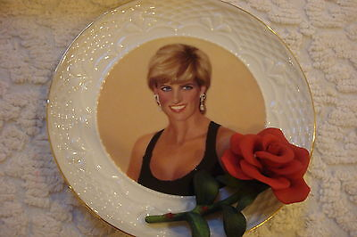 "Princess Diana Plate by Bradford Exchange, 6 1/2"", ""Diana, Selfless Provider"""