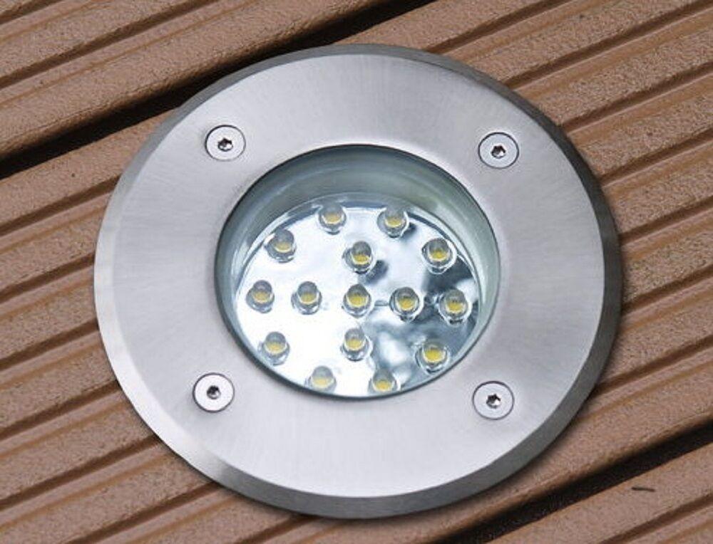 Terrazze Montaggio Spot LUNA LED 1,2 Watt 230v TONDO ip67 senso