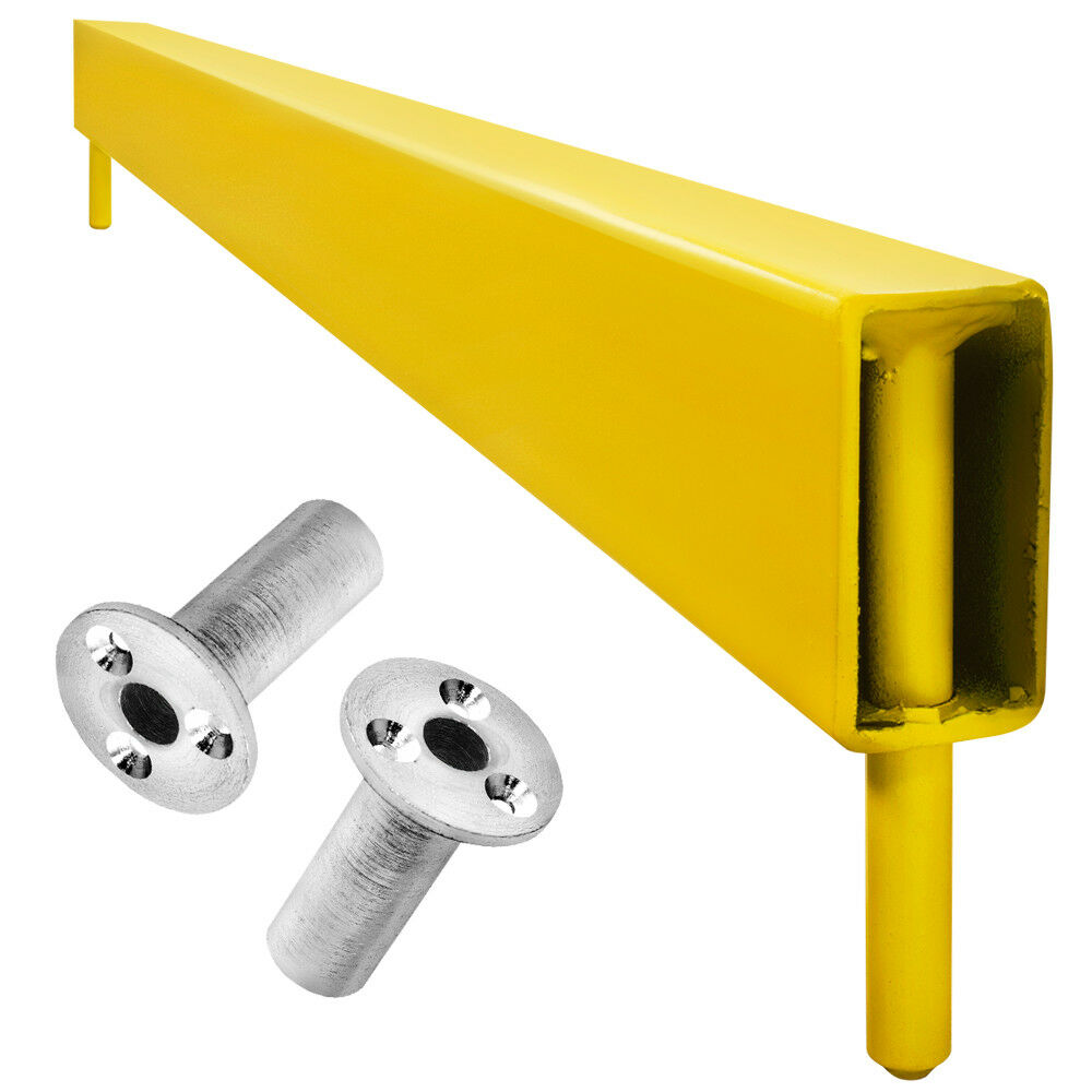 Bulls - Retractable (Fast Remove) - Raised Steel Oche - Yellow - DBX005