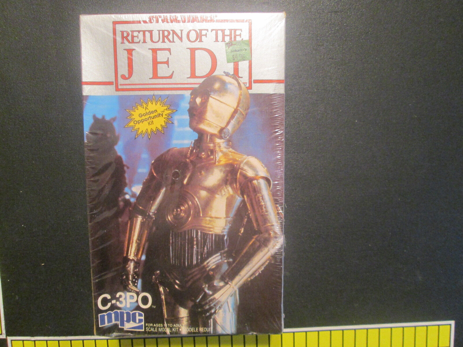 Star Wars redJ C-3PO Scale Model Kit by MPC