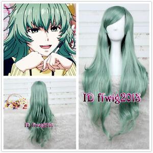 Tokyo Ghoul Aogiri Tree Eto Takatsuki Sen Long Green Wave curly Cosplay Wig