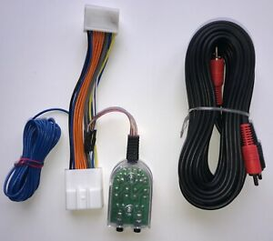 Details about Factory Radio Add A Subwoofer Amplifier Plug and Play on subaru speaker wire harness, subaru remote starter installation, subaru radio harness, subaru wiring harness,
